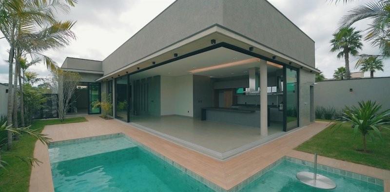 Casa em condomínio à venda  no Residencial e Empresarial Alphaville - Ribeirão Preto, SP. Imóveis